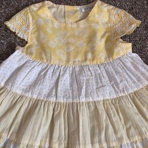 George Dresses - George Girls 3T Toddler Yellow Dress